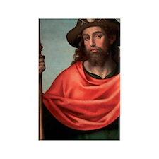 Vicente Juan Masip (also Juan de  Rectangle Magnet