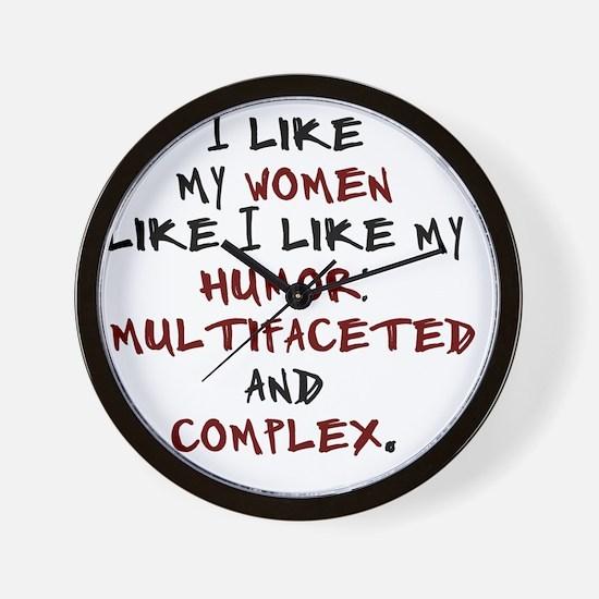humor-complex-2 Wall Clock