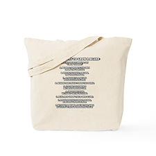 TSHIRTS_why_i_grow_white Tote Bag