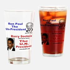unpresident Drinking Glass