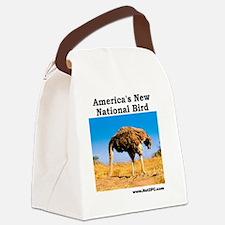 National Bird Canvas Lunch Bag