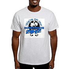 HONEYMOON2012BLACKBLUE T-Shirt
