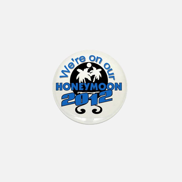 HONEYMOON2012BLACKBLUE Mini Button