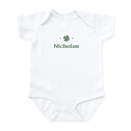 """Shamrock - Nicholas"" Infant Bodysuit"