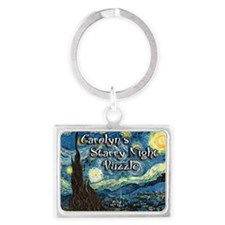 Carolyns Landscape Keychain