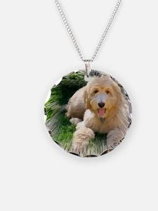 Goldendoodle Necklace