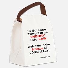 theory n law.gif Canvas Lunch Bag
