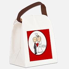 IDOBRIDEGROOm12 Canvas Lunch Bag