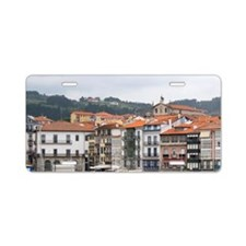 Old town and fishing port o Aluminum License Plate