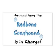 Coonhound Charge Postcards (Package of 8)