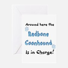 Coonhound Charge Greeting Cards (Pk of 10)
