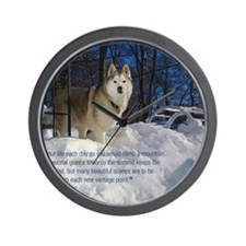 2012 Calendar Indy Snow Wall Clock