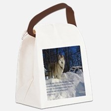 2012 Calendar Indy Snow Canvas Lunch Bag