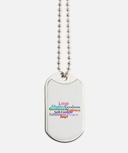 Fruit of the Spirit Dog Tags