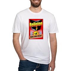 Religion: Kills Folks Dead! Red Raid Shirt