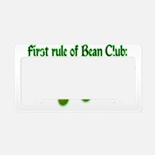 Bean Club License Plate Holder