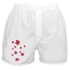pink-flowers.gif Boxer Shorts