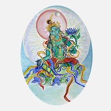 Tara Oval Ornament