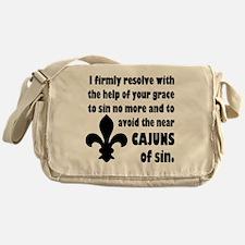Cajuns of Sin Messenger Bag