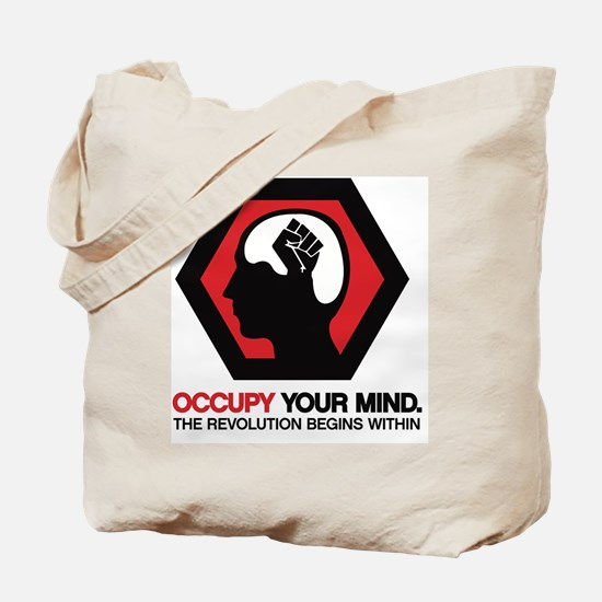 Occupy Your Mind Tote Bag