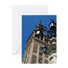 The Cathedral of Seville, Cathedral  Greeting Card