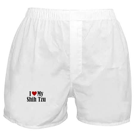 I 'Heart' My Shih Tzu Boxer Shorts