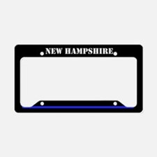 New Hampshire Police License Plate Holder