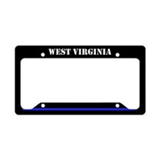 West Virginia Police License Plate Holder
