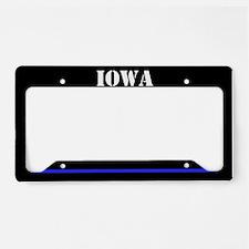 Iowa Police License Plate Holder