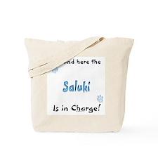 Saluki Charge Tote Bag