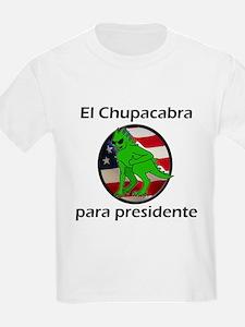 Chupacabra para presidente (Spanish) Kids T-Shirt
