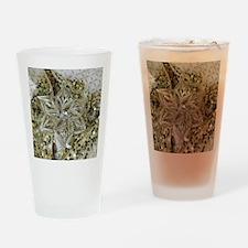 SPARKLING GOLD STAR. Drinking Glass