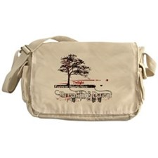 breaking dawn forever with color for Messenger Bag