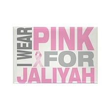 I-wear-pink-for-JALIYAH Rectangle Magnet