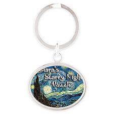 Ciaras Oval Keychain