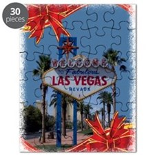 Las Vegas Christmas Puzzle
