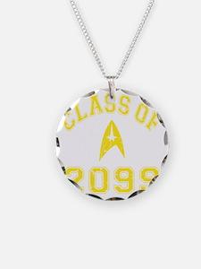 CO2099 Trekkies Yellow Distr Necklace