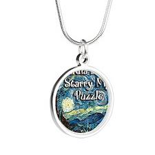 Claudias Silver Round Necklace
