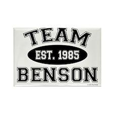 Tean Benson Rectangle Magnet