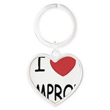 IMPROV Heart Keychain