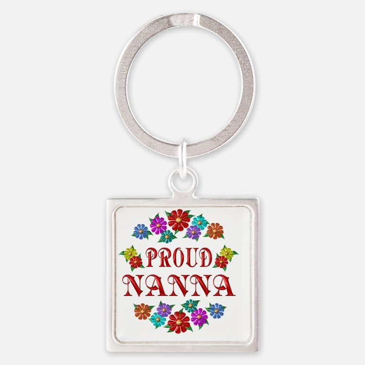 NANNA Square Keychain