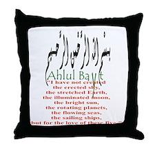 Love Ahlul Bayt Throw Pillow
