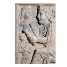 Pedagogue's sarcophagus.  Postcards (Package of 8)