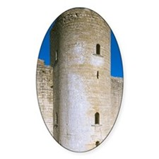 Bellver castle. Gothic style buildi Decal