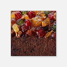"fruitcake copy Square Sticker 3"" x 3"""
