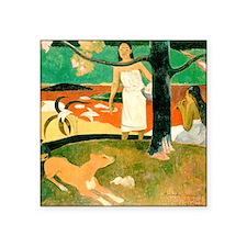 "Gauguin Square Sticker 3"" x 3"""