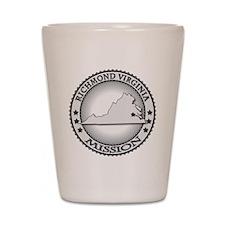 Richmond Virginia Mission Shot Glass