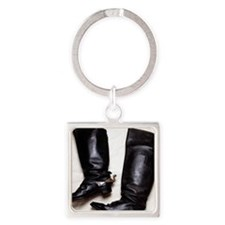 Civil War Boots T-shirts Square Keychain