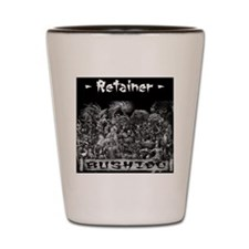 Retainer Back Shot Glass