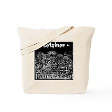 Retainer Back Tote Bag